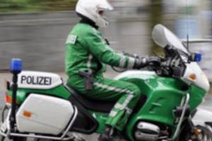 Polizei Motorrad-Streife